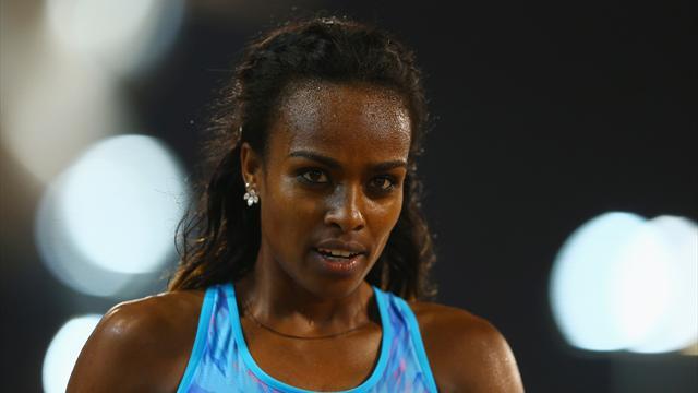 Dibaba remporte le 1500 m en dominant Muir