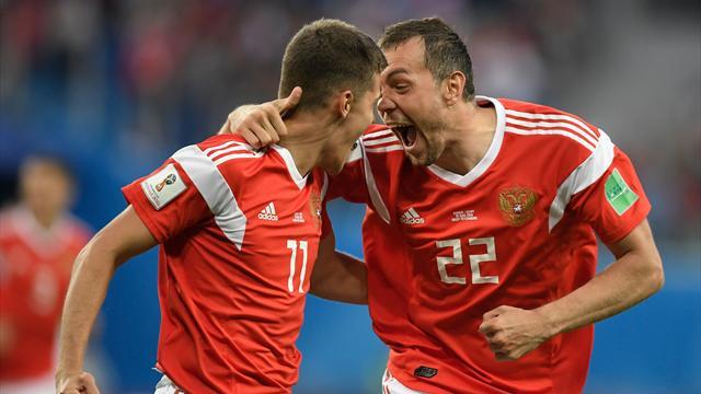 Salah-Tor reicht nicht: Russland marschiert durch Turnier