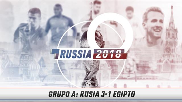 Vídeo-Mundial Rusia, 2018: La crónica flash del Rusia-Egipto