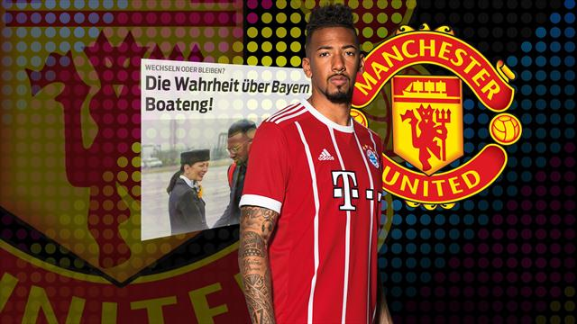 Euro Papers: Bayern slap £50m price tag on Jerome Boateng as Manchester United make move