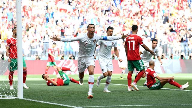 Ronaldo met le Portugal sur orbite, le Maroc prend déjà la porte