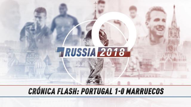 Vídeo-Mundial Rusia, 2018: La crónica flash del Portugal-Marruecos