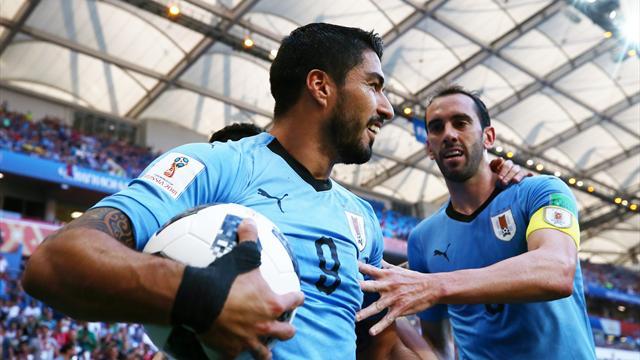 All'Uruguay basta la zampata di Suarez: l'1-0 all'Arabia Saudita vale la qualificazione