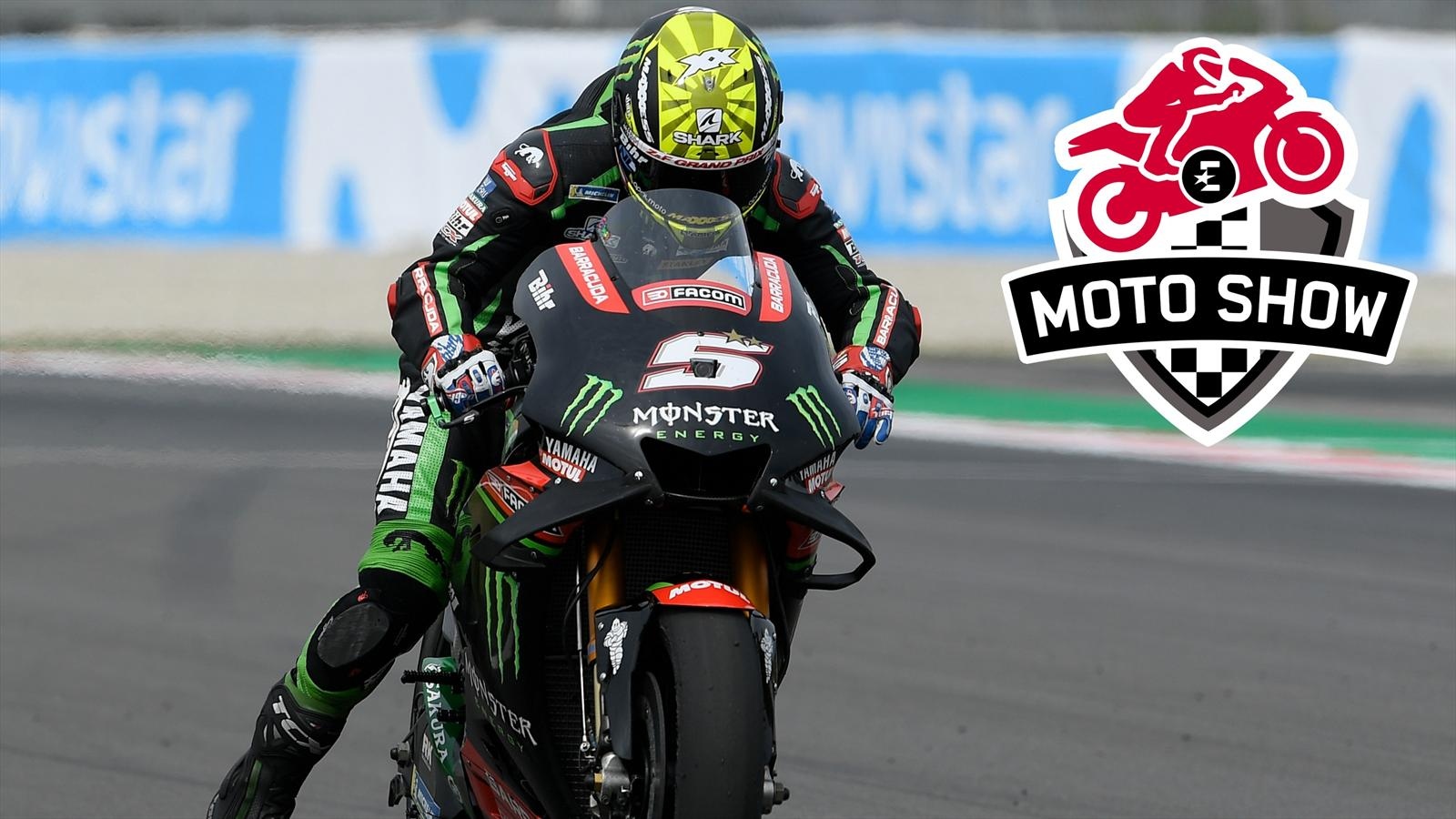 vid o motogp les r sultats de johann zarco yamaha tech3 ne sont pas inqui tants grand. Black Bedroom Furniture Sets. Home Design Ideas