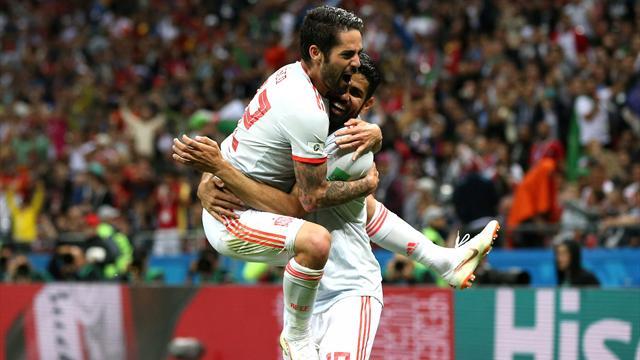 L'Espagne a souffert