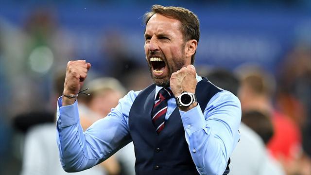 L'Angleterre déplore son premier blessé… son sélectionneur Southgate !