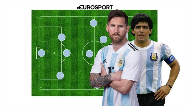 XI. Месси, Марадона и еще 9 ноунеймов в сборной лучших игроков в истории Аргентины