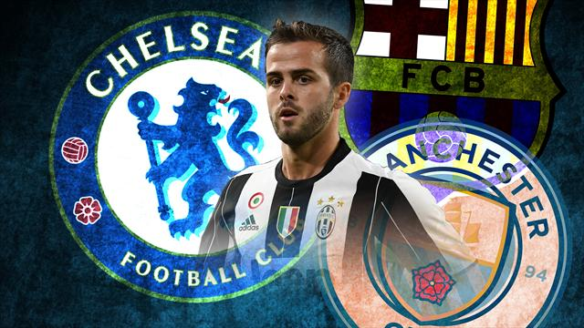 Euro Papers: Chelsea prepare to poach Pjanic from Barcelona and Manchester City