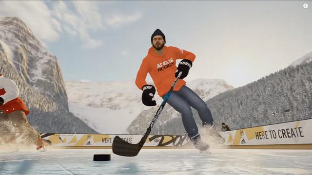 Стильный трейлер NHL 19, в котором хоккеисты гоняют на хоккейных коробках где-то в горах