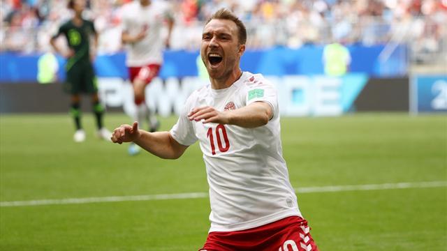 Le pagelle di Danimarca-Australia 1-1: gran gol di Eriksen, Mooy detta legge a centrocampo