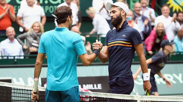 Paire si près de l'exploit contre Federer