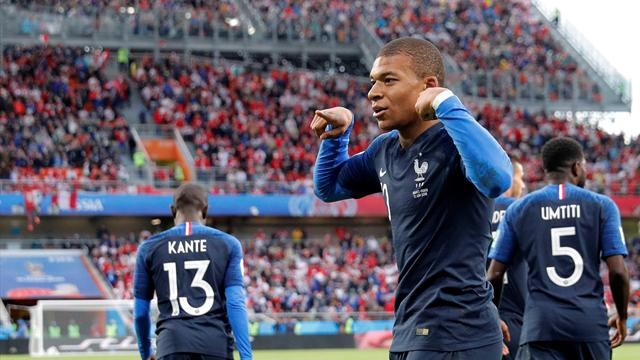 Mundial Rusia 2018, Francia-Perú: El niño de los récords (1-0)
