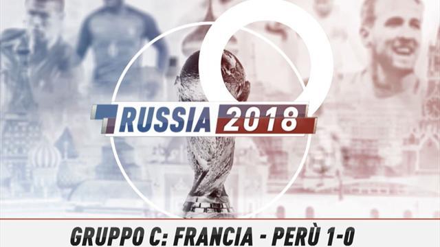Fast match Report: Francia-Perù 1-0 in 60 secondi