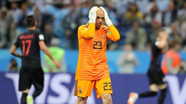 Caballero s'est complètement raté, Rebic l'a sanctionné : l'ouverture du score croate en vidéo