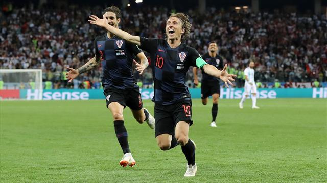 Modric s'est amusé : le deuxième but croate en vidéo