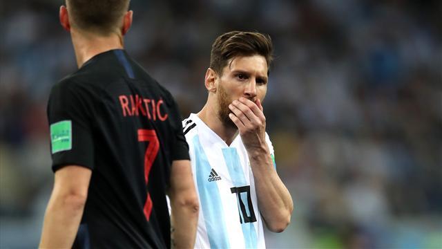 """Argentinien droht Aus - Messi am Ende? """"Niederlage schmerzt sehr"""""""