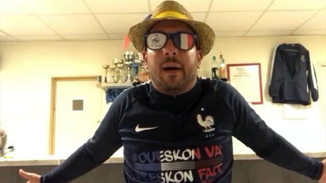 «Oh Didier, tu les a pris pour faire quoi ?» : Bengous débriefe France-Pérou