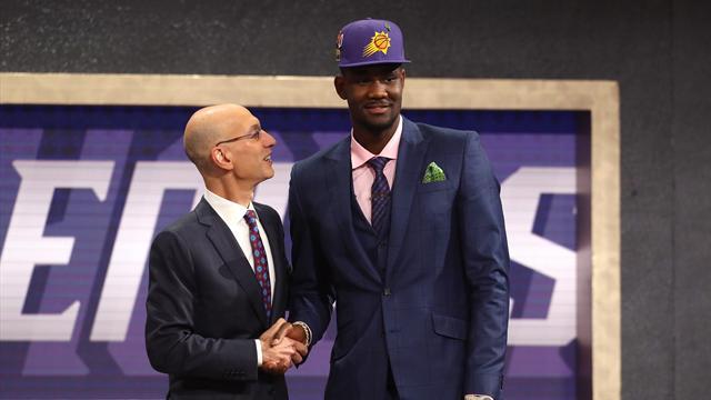Seeking new heights, Suns draft Ayton No. 1 overall