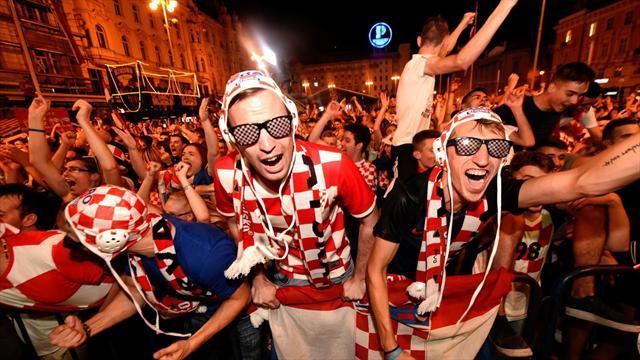 Hırvatistan'da tarihi zaferin coşkusu