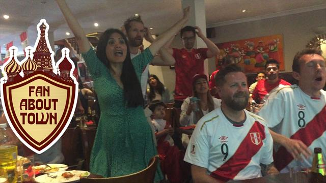 Fan About Town: Defiant Peruvians hold out hope until the end