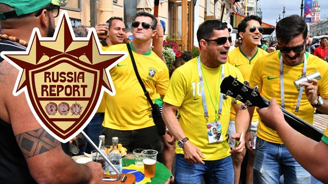 Russia Report: Brilliant Brazil chant set to take World Cup by storm