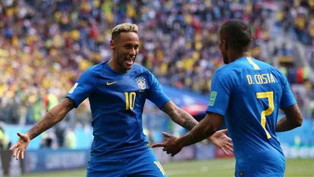 Le pagelle di Brasile-Costa Rica 2-0: Douglas Costa è il cambio marcia verdeoro