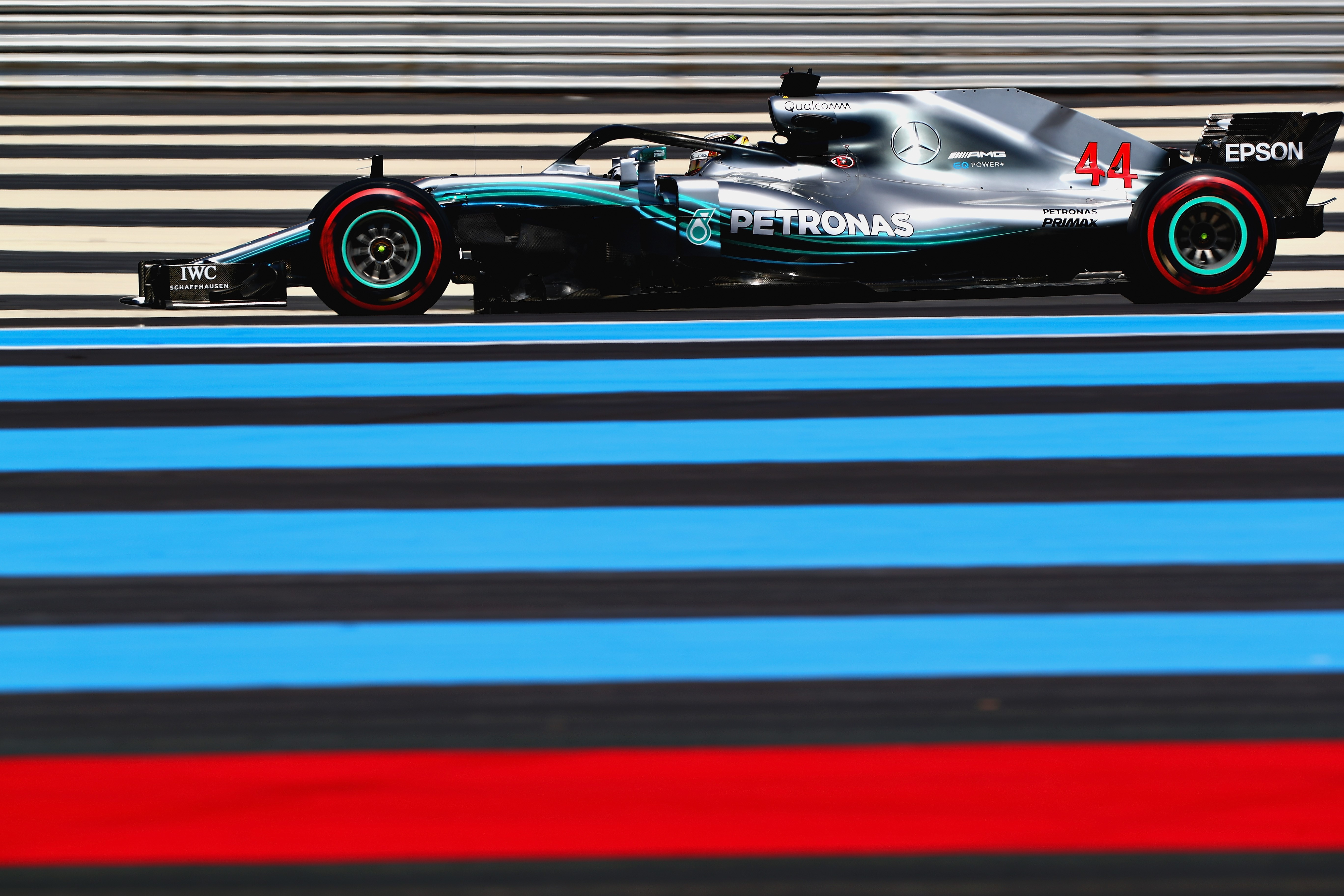 Lewis Hamilton (Mercedes) au Grand Prix de France 2018