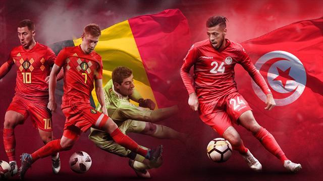 Mundial Rusia 2018: La previa en 60 segundos del Bélgica-Túnez (14:00)