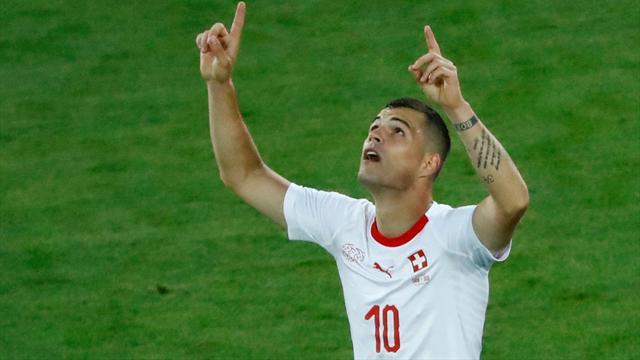 Le pagelle di Serbia-Svizzera 1-2: Xhaka e Shaqiri, cuore elvetico orgoglio kosovaro