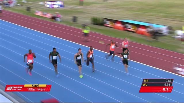 """Filippo Tortu, un'impresa nella leggenda: il VIDEO dei suoi 100 metri da 9""""99!"""