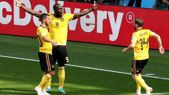 Il Belgio vola con Hazard e Lukaku: 5-2 alla Tunisia e ottavi virtualmente in tasca