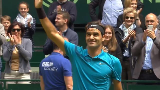 Federer awansował do finału w Halle