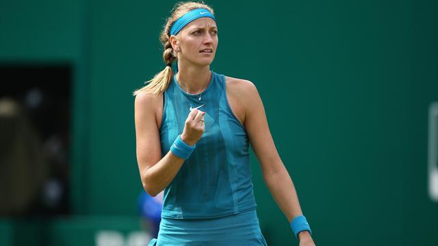 Kvitova conserve son titre et prépare parfaitement Wimbledon