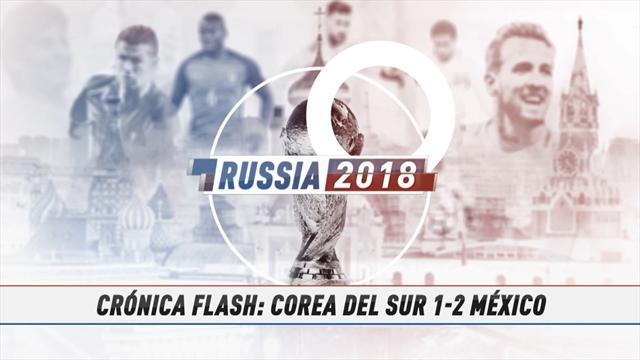 Vídeo-Mundial Rusia, 2018: La crónica flash del Corea del Sur-México