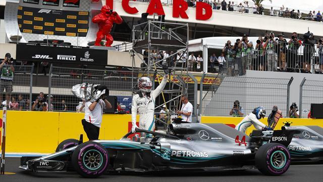 """Hamilton : """"Entre Ferrari et nous, ce sera serré"""""""