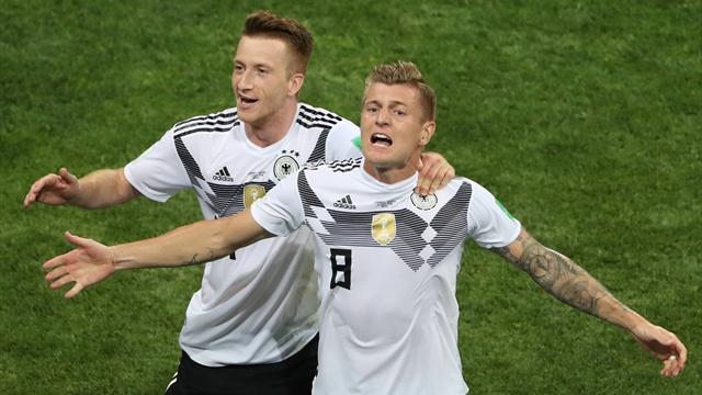 Wahnsinn! Kroos rettet Deutschland in letzter Sekunde gegen Schweden