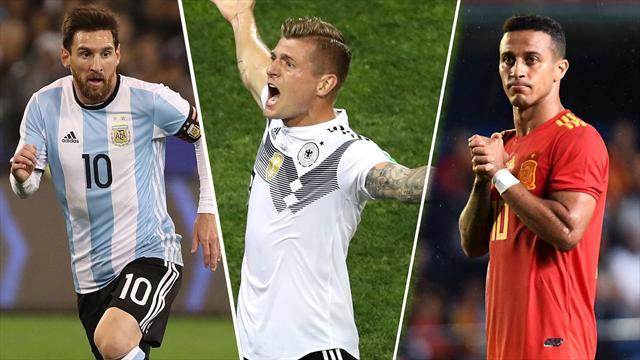 Messi, Kroos y Thiago, los nombres del día