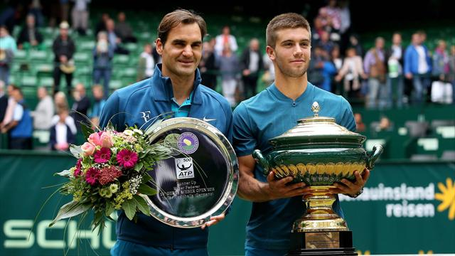 ATP Halle (Final), Federer-Coric: Sorpresa y número uno para Nadal (6-7(6), 6-3 y 2-6)