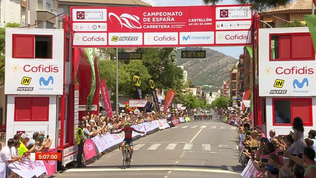 Izagirre surges to Spanish road race title with solo win