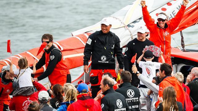 China mit erstem Sieg beim Volvo Ocean Race
