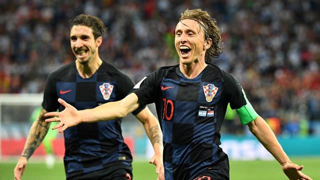 Исландия проиграла Хорватии и отправилась домой