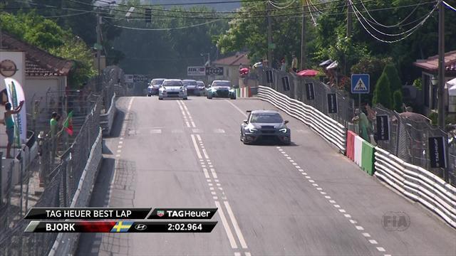 WTCR Portugal(Carrera 3): Thed Bjork arrasa a sus rivales