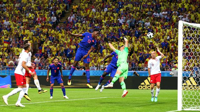 James Rodriguez à la baguette, Mina à la conclusion : la Colombie mène face à la Pologne