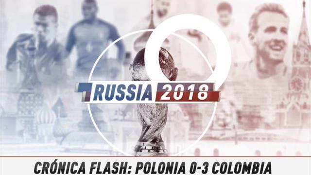 Vídeo-Mundial Rusia, 2018: La crónica flash del Polonia-Colombia