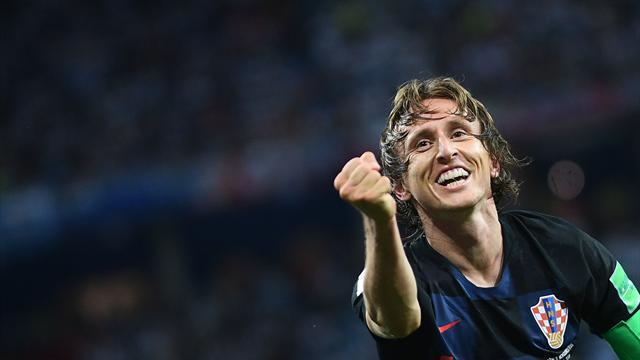 Модрич: «Обменял бы все победы в Лиге чемпионов на золото чемпионата мира»