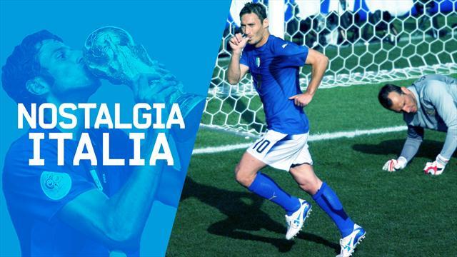 Nostalgia Italia: Totti e il rigore insperato che mise al tappeto l'Australia
