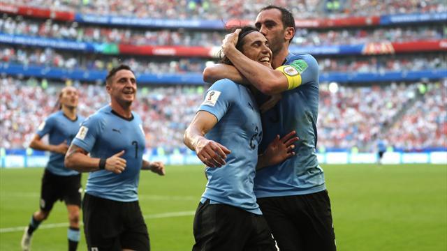 Ohne Gegentor ins Achtelfinale: Uruguay holt Gruppensieg vor Russland