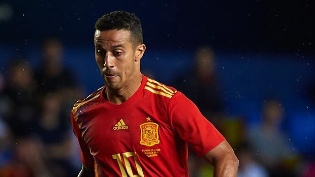 Spanien erneut mit Thiago und Alcácer im Kader