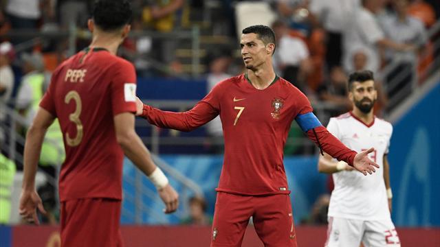 Ronaldo hors sujet, le Portugal a laissé échapper la première place