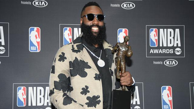 James Harden takes home MVP